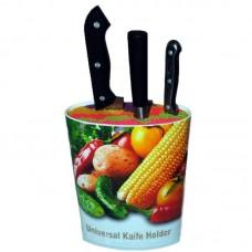 Подставка для ножей  овальная   7 х 22,5 см