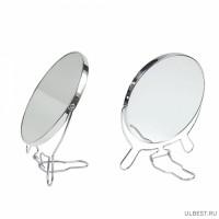 Зеркало металлическое двустороннее №5