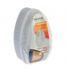 Губка для обуви с дозатором силикона  бесцветная  SILVER