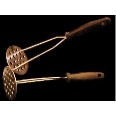 Картофелемялка металлическая