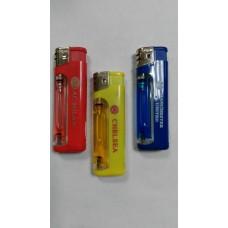 Зажигалка газовая с фонариком - Цветной газ