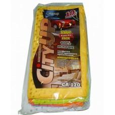 Набор салфеток из микрофибры 30х30см   10шт  CityUP   CA120