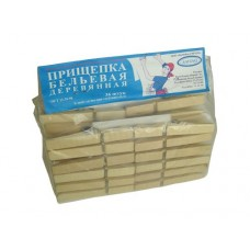 Прищепки бельевые деревянные 36шт
