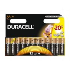 Батарейки пальчиковые  DURACELL 12 шт