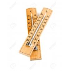Термометр деревянный комнатный 15х3,5см