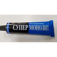 """Клей  """" Супер Монолит 1""""  100 мл  (Польша)"""