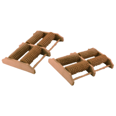 Массажер  деревянный   для  ног  ( 4  колёсный )