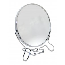 Зеркало круглое металлическое №6