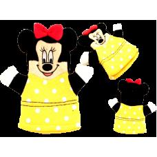 Детская рукавица Микки А-706