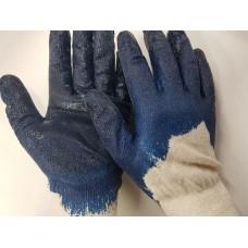 Перчатки рабочие   (синие)