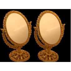 Зеркало золото №8