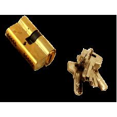 """Секрет """"Перфорированный Золото"""" 60мм ключ ключ 5ключа в комплект"""