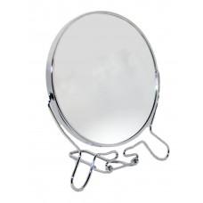 Зеркало круглое металлическое №4