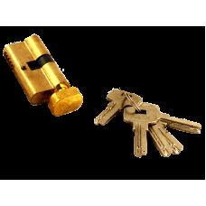 """Секрет """"Перфорированный Золото"""" 60мм ключ вертушка 5ключа в комп"""