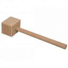 Прямоугольный молоток для отбивания мяса  (бук)