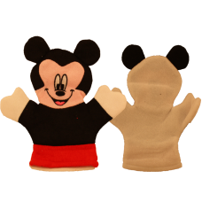 Мочалка-варежка Микки Маус
