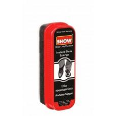 Губка для обуви  черная SHOW