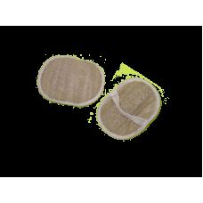 Мочалка-перчатка овальная из люфы