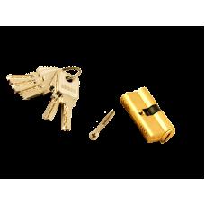 """Секрет """"Перфорированный Золото Латуновый"""" JGETM 60мм ключ вверту"""