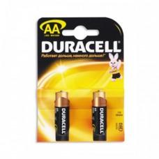 Батарейки пальчиковые  DURACELL 2шт