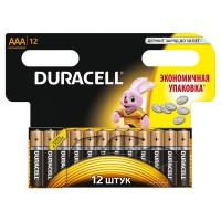 Батарейки мизинчиковые duracell 12 шт