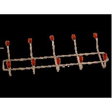 Вешалка настенная (5 крючков)
