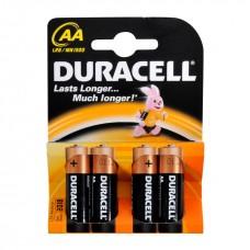 Батарейки пальчиковые  DURACELL 4шт