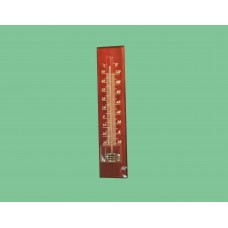 Термометр деревянный темный    21х5см