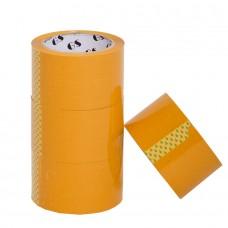 Скотч  упаковочный жёлтый   100 метр